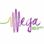 Logo da emissora Radio Mega 88.9 FM