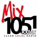 Logo da emissora Radio KXMX 105.1 FM