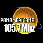 Logo da emissora Radio Panamericana 105.7 FM