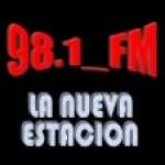 Logo da emissora Radio La Nueva Estación 98.1 FM