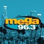 Logo da emissora Radio KXOL Mega 96.3 FM