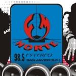 Logo da emissora Radio Norte 98.5 FM