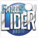 Logo da emissora Radio Lider 100.9 FM