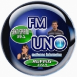Logo da emissora Radio FM Uno 99.1