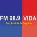Logo da emissora Radio Vida 98.9 FM