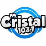 Logo da emissora Radio Cristal 103.7 FM