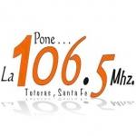 Logo da emissora Radio La 106.5 FM