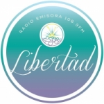 Logo da emissora Radio Libertad 106.3 FM