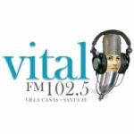 Logo da emissora Radio Vital 102.5 FM