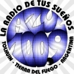 Logo da emissora Radio Azul 100.9 FM