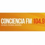 Logo da emissora Radio Conciencia 104.9 FM