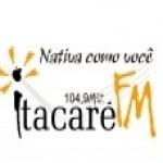 Logo da emissora Rádio Itacaré 104.9 FM