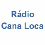Logo da emissora Rádio Cana Loca