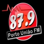 Logo da emissora Rádio Porto União 87.9 FM