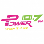 Logo da emissora Radio Power 101.7 FM