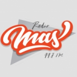 Logo da emissora Radio Mas 99.7 FM