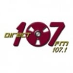Logo da emissora Radio Direct 107.1 FM