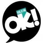 Logo da emissora Radio OK 105.5 FM
