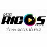 Logo da emissora Rádio Rico's Gospel