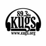 Logo da emissora KUGS 89.3 FM