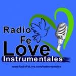 Logo da emissora Radio Fé Love Instrumentales
