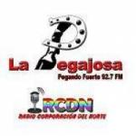 Logo da emissora Radio La Pegajosa 92.7 FM