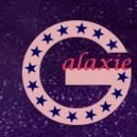 Logo da emissora Radio Galaxi 104.5 FM