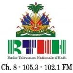 Logo da emissora Radio Nationale Haiti 105.3 FM