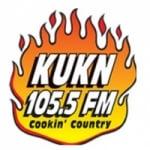 Logo da emissora KUKN 105.5 FM