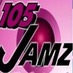 Logo da emissora Radio Jamz 105.3 FM