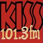 Logo da emissora Radio Kiss 101.3 FM