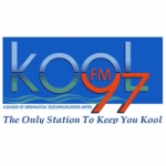 Logo da emissora Radio Kool 97.1 FM