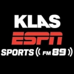 Logo da emissora Radio KLAS ESPN Sports 89.5 FM