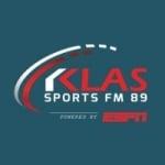 Logo da emissora Radio KLAS 89.5 FM