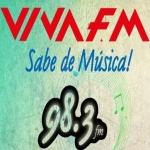 Logo da emissora Radio Viva 98.3 FM
