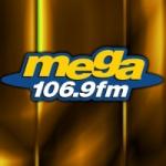Logo da emissora Radio Mega 106.9 FM