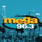 Logo da emissora Radio Mega 96.3 FM