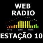 Logo da emissora Rádio Estação 10