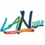 Logo da emissora Radio La N 103.5 FM