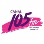 Logo da emissora Radio Canal 105.1 FM