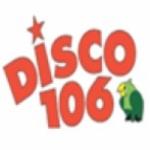 Logo da emissora Radio Disco 106.1 FM