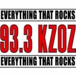 Logo da emissora Radio KZOZ 93.3 FM