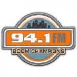 Logo da emissora Radio Boom Champions 94.1 FM