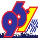 Logo da emissora Radio WE 96.1 FM