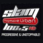 Logo da emissora Radio Slam 100.5 FM