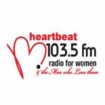 Logo da emissora Radio Heartbeat 103.5 FM