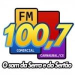 Logo da emissora Rádio Comercial 100.7 FM