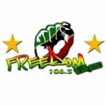 Logo da emissora Radio Freedom 106.5 FM