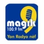 Logo da emissora Radio Magik 100.9 FM