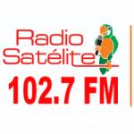 Logo da emissora Radio Satélite 102.7 FM